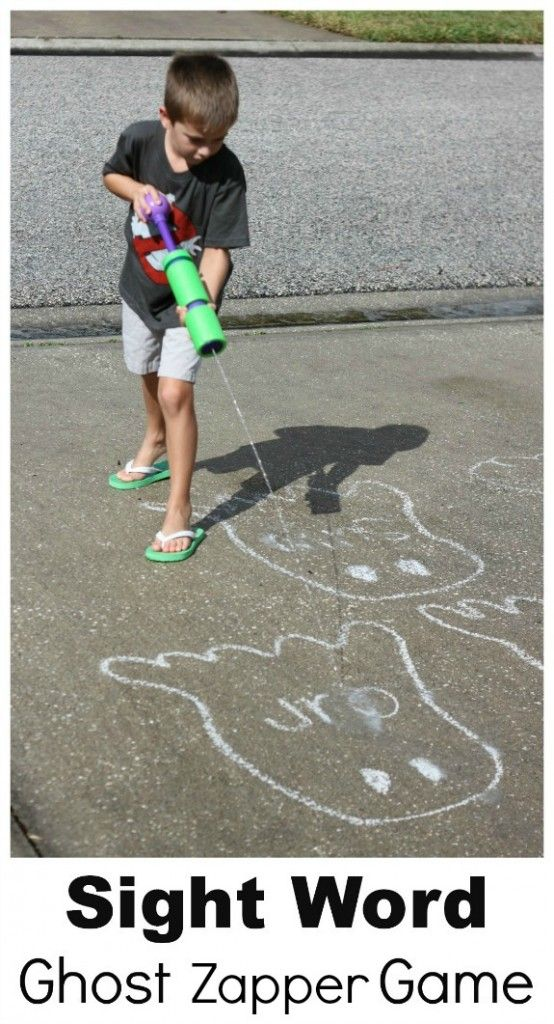 Fun Sight Word Practice: Ghost Zappers!