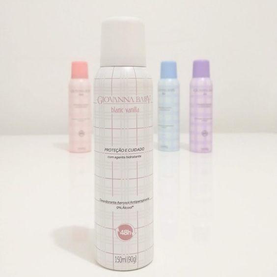 Casar É… » Arquivos » Desodorante Giovanna Baby – Blanc Vanilla, Classic, Blue e Lilac
