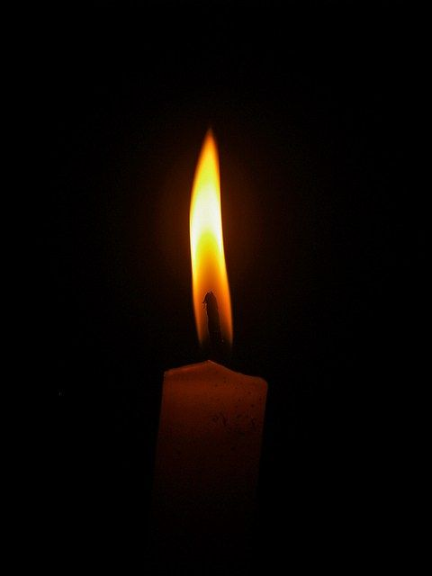 Candle Flame Close Up On A Black Background Free Images Icon0 Com Candle Flames Black Candles Candles