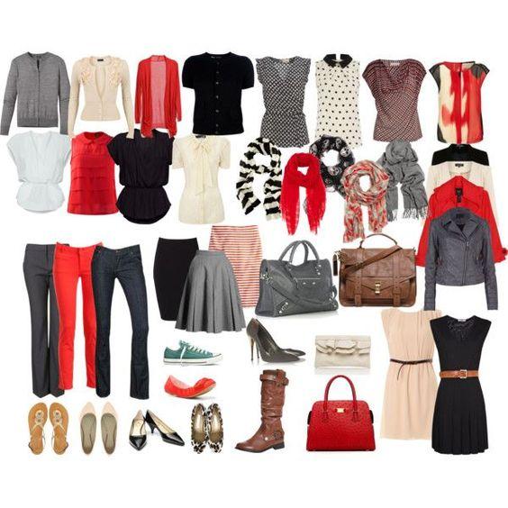 Wardrobe Capsule Formula Mix And Match Wardrobe Ideas