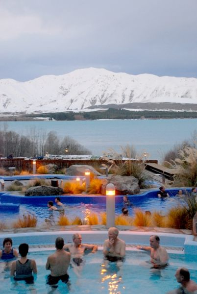 Tekapo Hot Springs, Nueva Zelanda