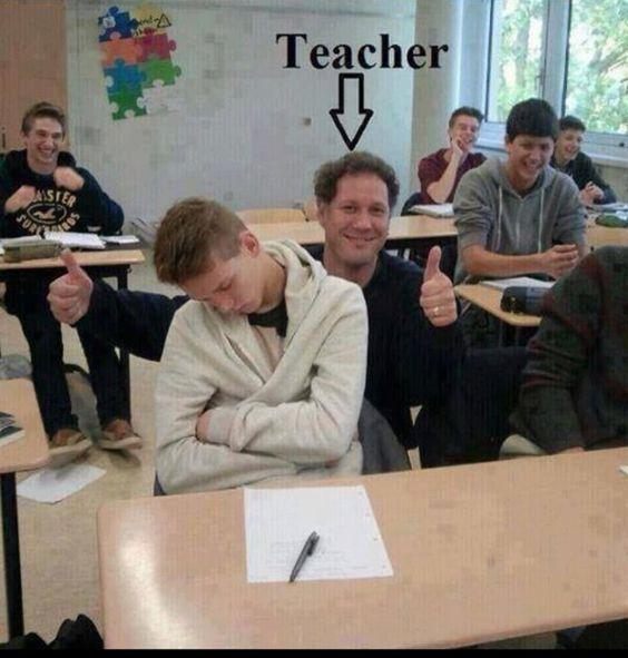 Chilligster Lehrer ever!!!