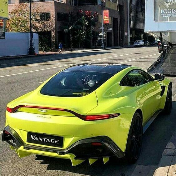 Vintage Green Aston Martin In Action High End Luxury Sport Cars