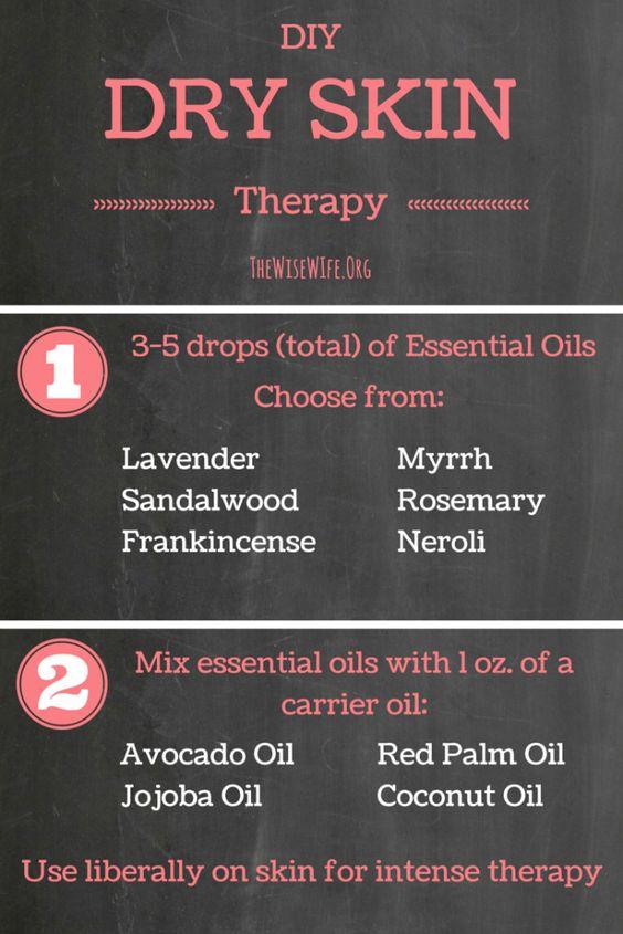 essential oils guide for skin