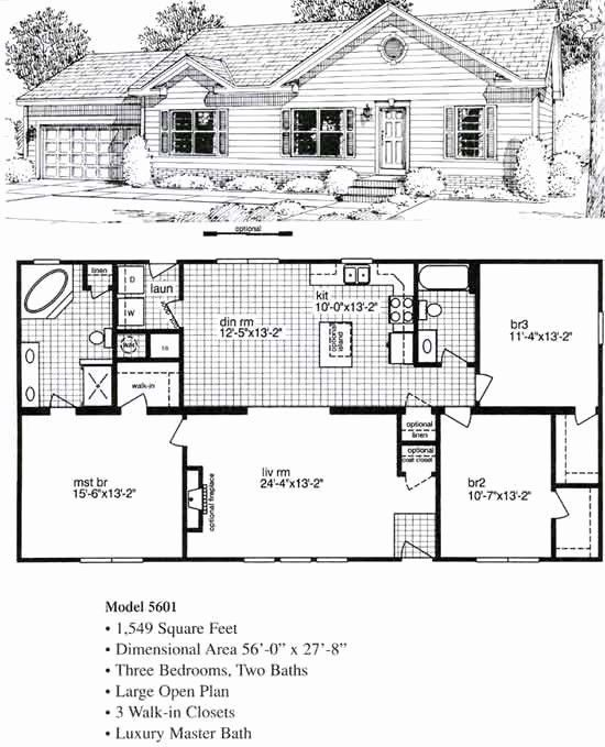 Sample Floor Plan For 2 Bedroom House Inspirational Sample 2 Bedroom House Plans New Simple Modular Home Floor Plans Cottage Floor Plans Small House Blueprints
