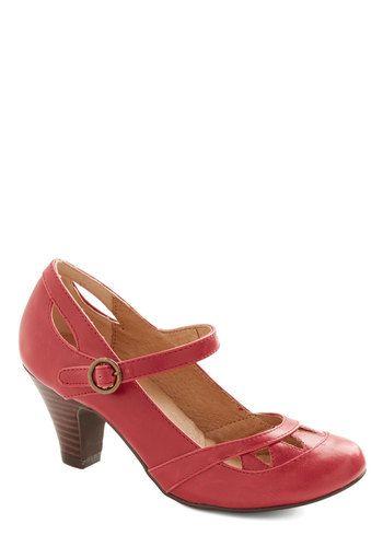 Unique Red Summer Shoes