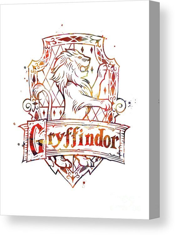 Gryffindor Crest Canvas Print By Monn Print All Canvas Prints Are Professionally Printed As Harry Potter Background Harry Potter Wallpaper Dobby Harry Potter