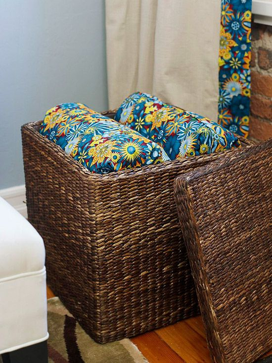 extra torage ottoman or side table