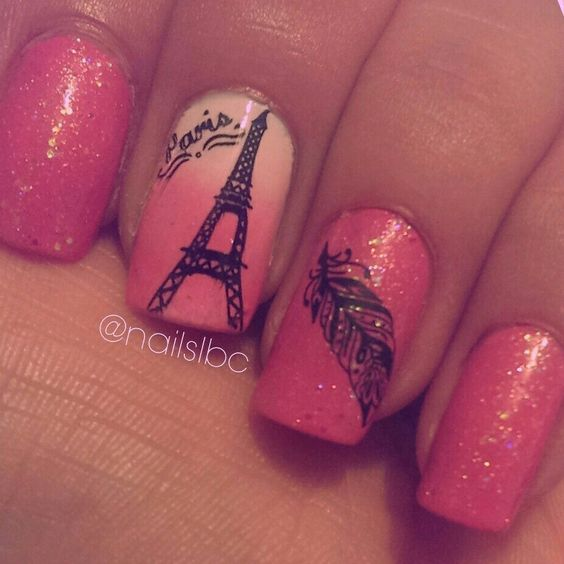 Paris nail design