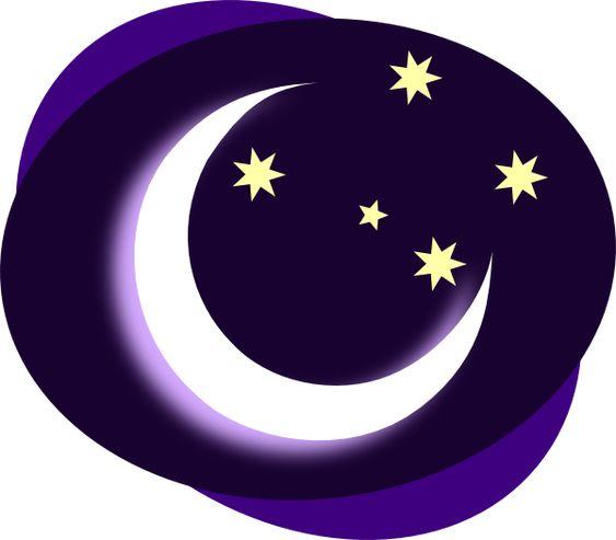 Clip Art Moon Clipart purple moon clip art vector online royalty free