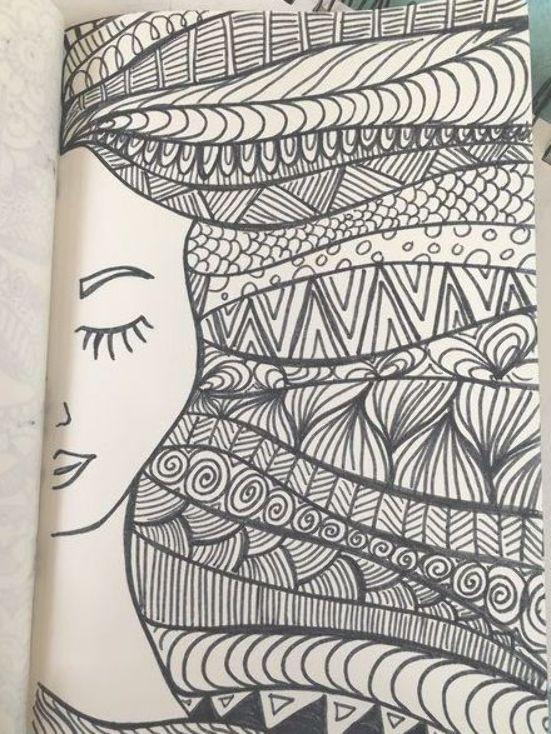 Muhtesem Farkli Karakalem Cizimleri Cizimleri Farkli Karakalem Muhtesem Sharpie Art Doodle Art Journals Mandala Design Art