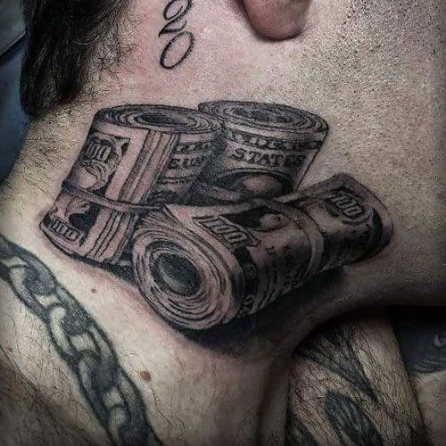 101 Best Money Tattoos For Men Cool Designs Ideas 2019 Guide Money Tattoo Tattoos For Guys Money Design