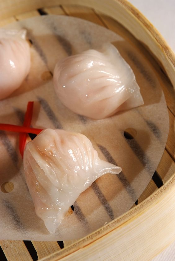 Steamed Prawn Dim Sum at Royal China