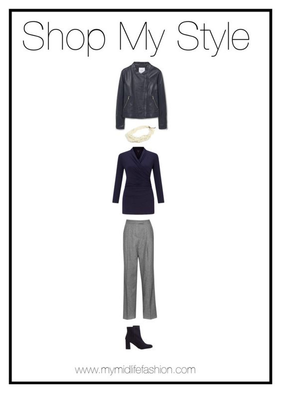 """""""Blue & Grey"""" by mymidlifefashion ❤ liked on Polyvore featuring Boden, J.Crew and MANGO"""