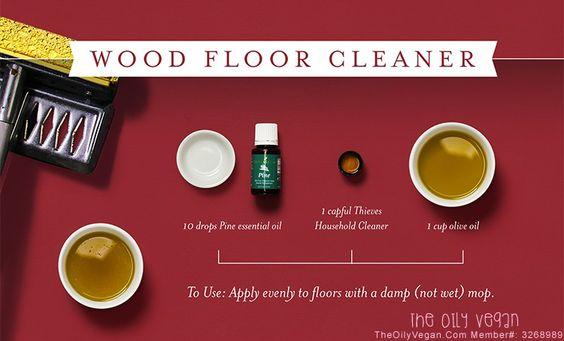 Thieves Wood Floor Cleaner.