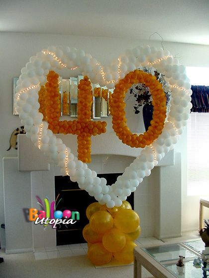 Anniversary decor san diego anniversary party for Anniversary decoration ideas