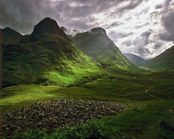 Glen Coe, Scotland, UK