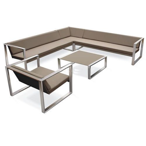 Stainless Steel Sofa Set Steel Sofa Sofa Set Coffee Table