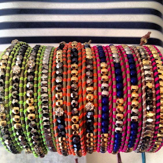 Wanderlust Wrap Bracelets by Stella & Dot