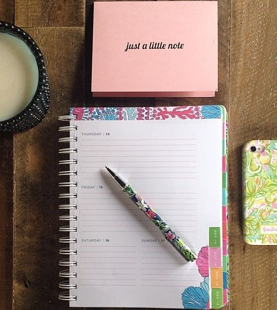 Organization is super important to me, and I use my planner to keep track of absolutely everything.