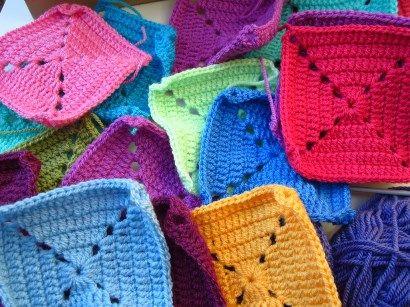 little tin bird blanket squares