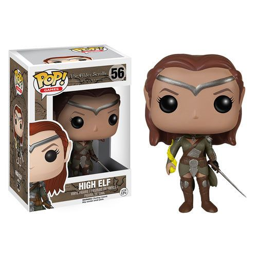 The Elder Scrolls V Skyrim POP! Games Vinyl Figur High Elf 9 cm  The Elder Scrolls POP! - Hadesflamme - Merchandise - Onlineshop für alles was das (Fan) Herz begehrt!