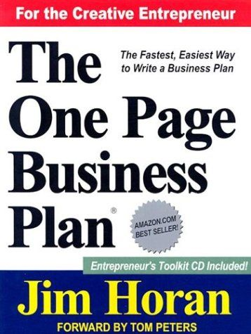 Books on business plans