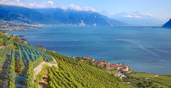Das Genferseegebiet – eine der schönsten Ecken der Schweiz