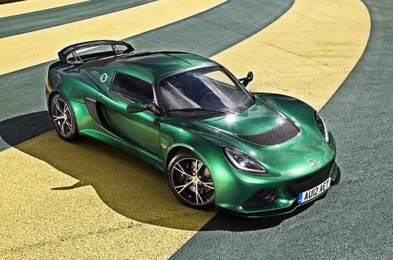 Lotus Exige S. In that colour. Definitely.