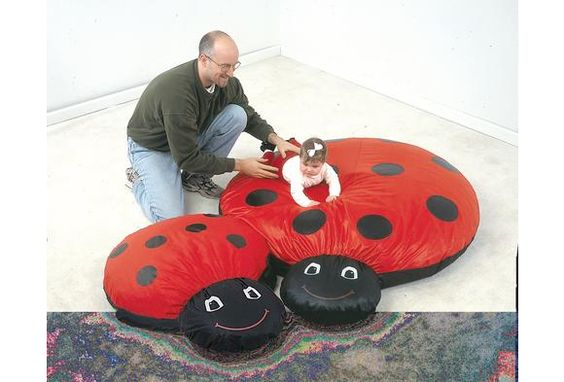 Cuddle-Up® Pillow - Mama Ladybug