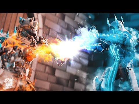 The Prisoner Vs The Ice King Endgame A Fortnite Short Film Youtube Ice King Fortnite Background Images Wallpapers