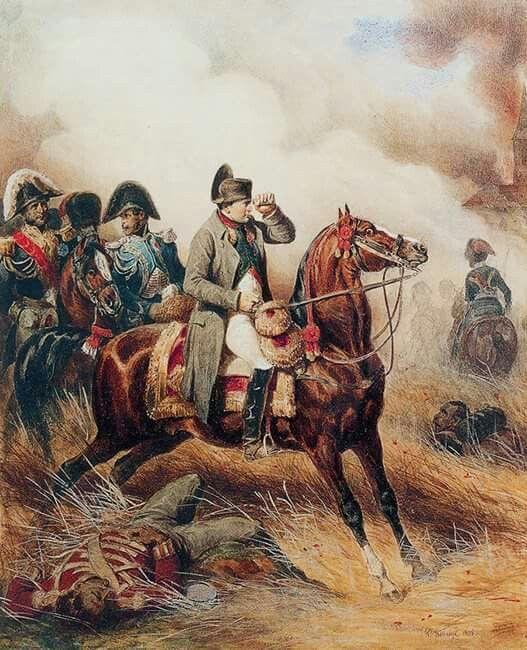 Napoleone e il suo staff