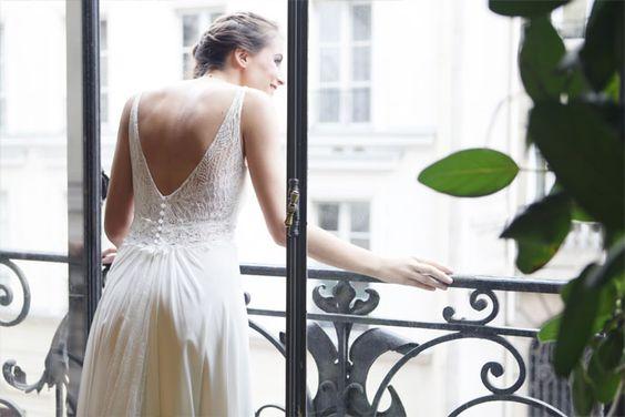 Amarildine - Robes de mariée - Collection 2016   Modèle :  Emeraude  Donne-moi ta main - Blog mariage