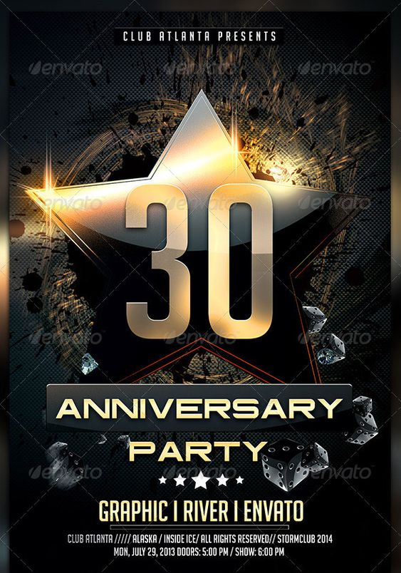 Birthday-Anniversary-Party-Flyer-Template Mockup Meuk - harmony flyer template