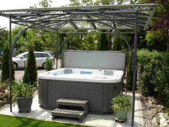 whirlpool im garten kleine treppe whirlpool pinterest. Black Bedroom Furniture Sets. Home Design Ideas