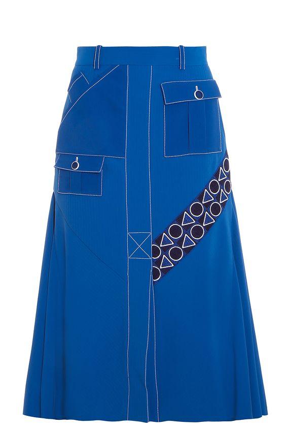 PETER PILOTTO Pocket Midi Skirt. #peterpilotto #cloth #