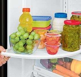 Shelves refrigerators and money on pinterest - How to use the fridge in an ingenious manner ...