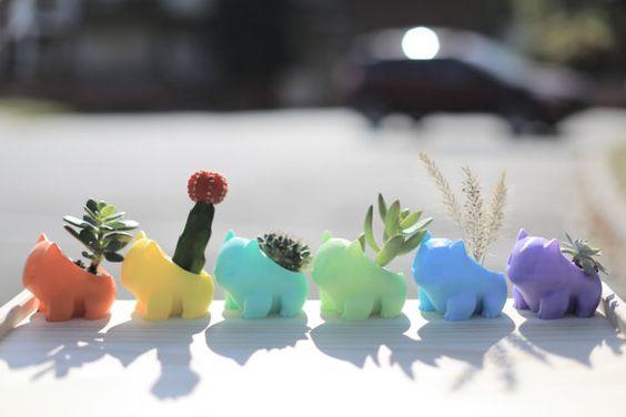3D gedruckt Bulbasaur Pflanzer
