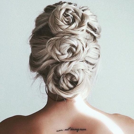 Triple Braided Roses | Hairstyle on Point