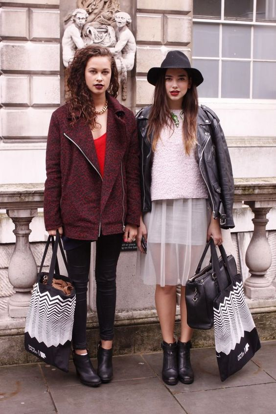 cool Street Style London Fashion Week SS14 Find more women fashion ideas on popmiss.c...: