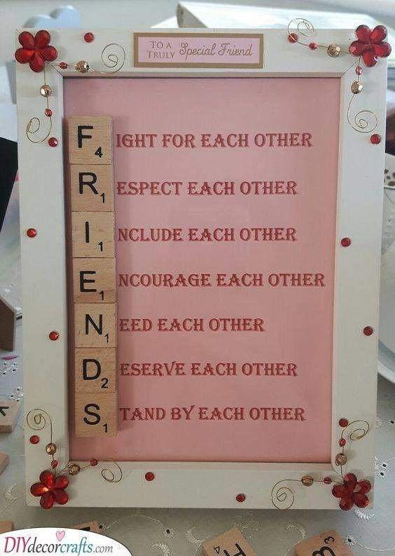FULLY PERSONALISED GIFT FOR FRIEND AT CHRISTMAS REMEMBER THE BEST YEAR BESTIE m