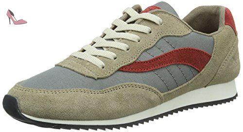 by Gerli 27CH247-610410, Sneakers Basses Femme - Marron - Braun (reh 410), 41 EUDockers by Gerli
