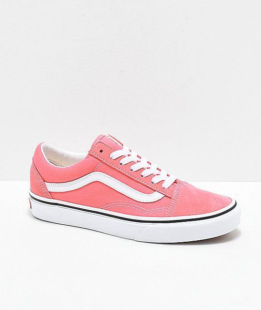 Vans Old Skool Strawberry Pink \u0026 White
