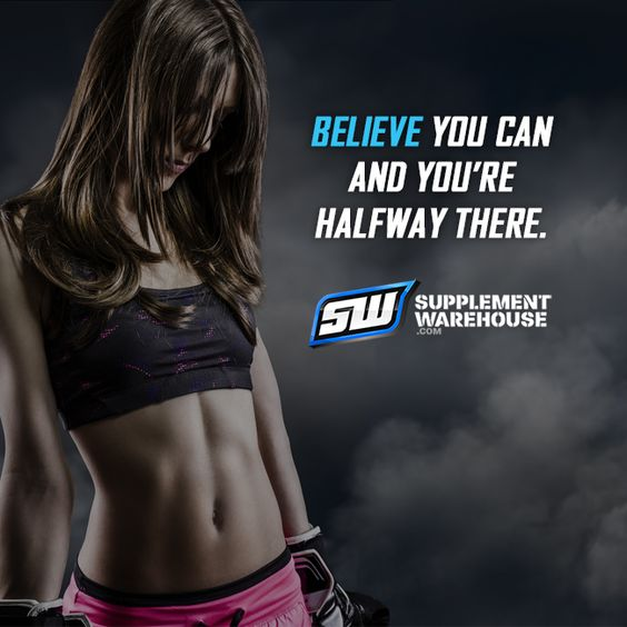 Believe you can and you're halfway there. #motivation #quote #believe #fitness #health #fit #supplementwarehouse.com
