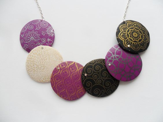 My NEW necklace- Silk screen