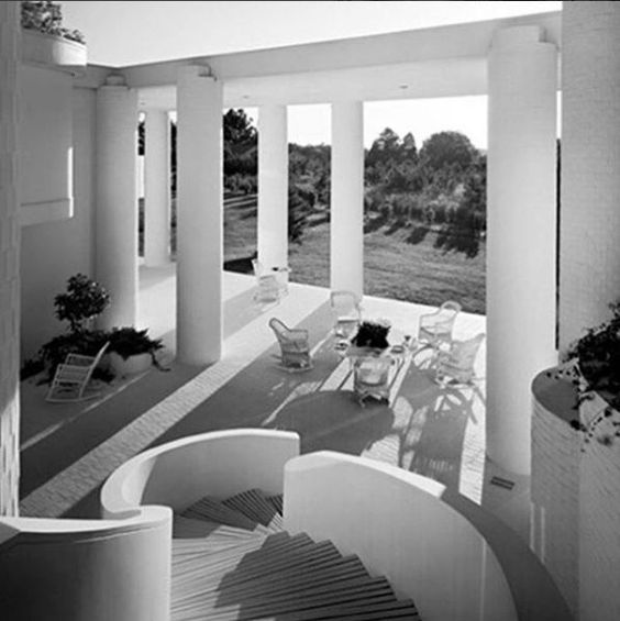 Wallace residence in Athens, Alabama by Paul Rudolph (1965):