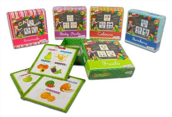 Hacer puzzles mejora el razonamiento y la coordinación ojo-mano...Los nuestros ademas enseñan vocabulario en inglés.