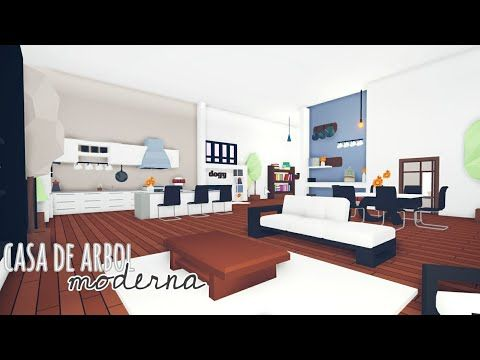 Roblox L Como Decorar La Casa Del Arbol Moderna 4 K En Adotp Me Youtube In 2020 Home Cute Room Ideas Aesthetic Bedroom