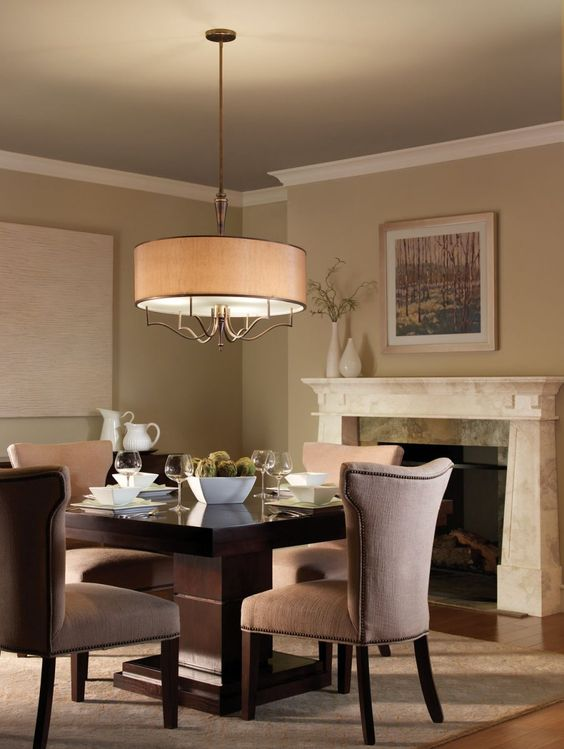 Modern dining room lighting for the home pinterest for Dining area lighting ideas