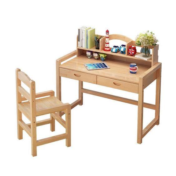 Estudar Estudiar Tafel Tableau Furniture Meja Belajar Cuadros Infantiles Tisch Wood Desk Enfant Escritorio Mesa Study Kids Table Belajar Meja Dekorasi Rumah